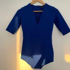 Aritzia blue bodysuit